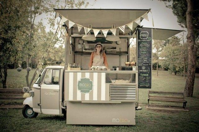 Street Food. 11 ape votati al panino e al gelato mobile
