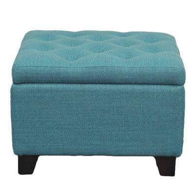 New Pacific Direct Julian Ottoman Upholstery Aegean
