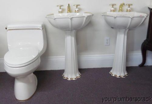 Kohler Artist Edition Prairie Flower Bathroom Ensemble Toilet 2