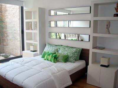 Espejos en el dormitorio como usar los espejos para for Decoracion de dormitorios con espejos