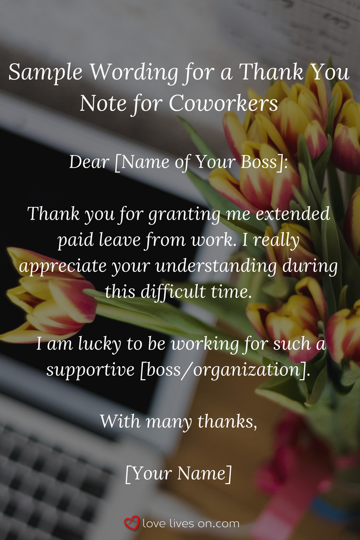 Thank you note for sympathy card from coworkers ziesite 33 best funeral thank you cards factual fact izmirmasajfo