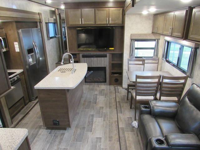2018 Open Range 376FBH   Front Living Room Or 2nd Bedroom Fifth Wheel