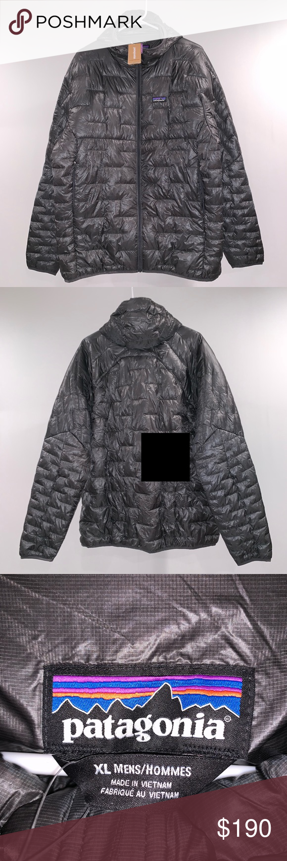 Jacket New With Puff Hoody Patagonia Micro Spring Tags 2018 qzMpLSVUG