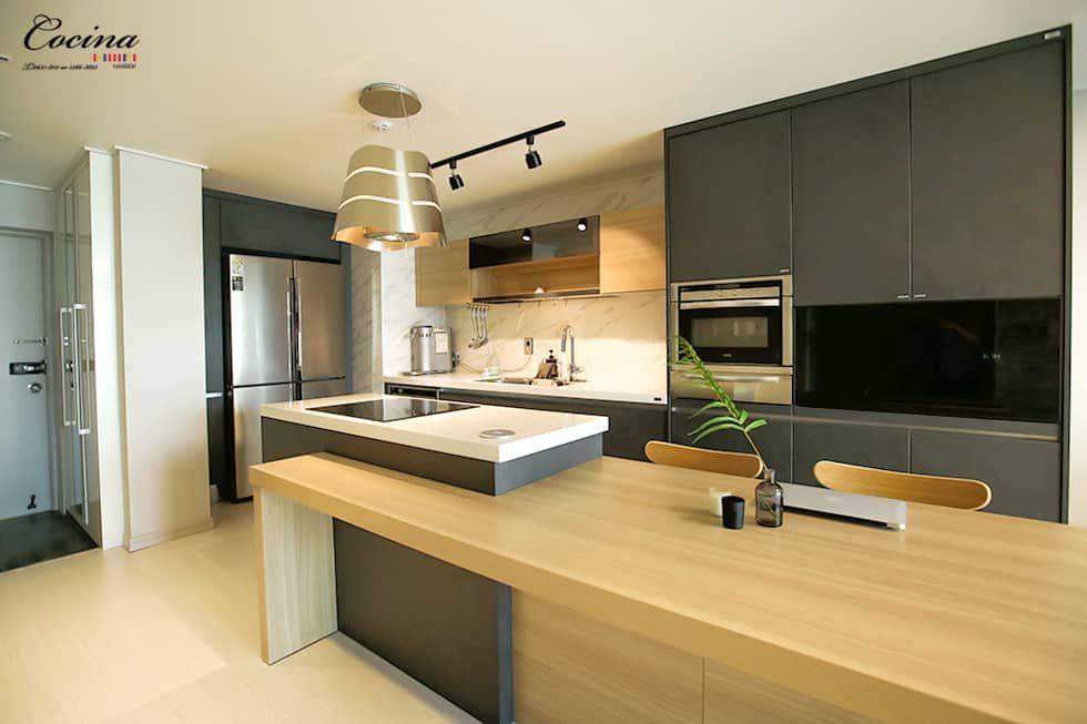 Cuisine int gr e de style par cocina deco cuisine cuisine int gr e style et interieur design for Cuisine integree