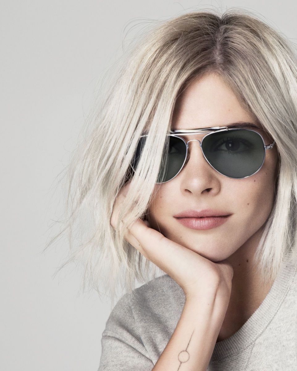 2463c8e28e0 Emily Weiss and her beautiful tattoo    Into the Gloss X Warby Parker  aviators are pretty rad too!