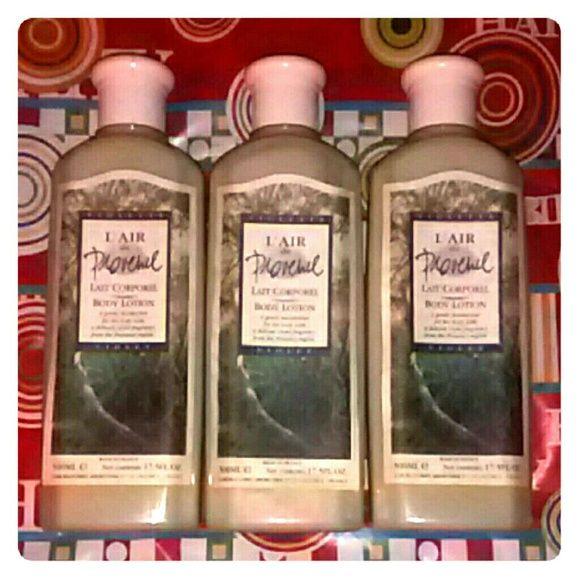 NEW 3 lotion bundle Everything is New 3 L'AIR de PROVENCE VIOLET BODY LOTION (MADE IN FRANCE) EACH BOTTLE HAS 500ML/17.5FL.OZ. ALSO YOU WILL GET 1 FREE BONUS GIFT OF SWISSCO LLC, LAVENDER MOISTURIZING HAND,BODY LOTION. CONTAINS FRAGRANT PLANT ESSENCE. 370ML/12.48OZ (Retail $10.00) L'AIR de  PROVENCE  Accessories