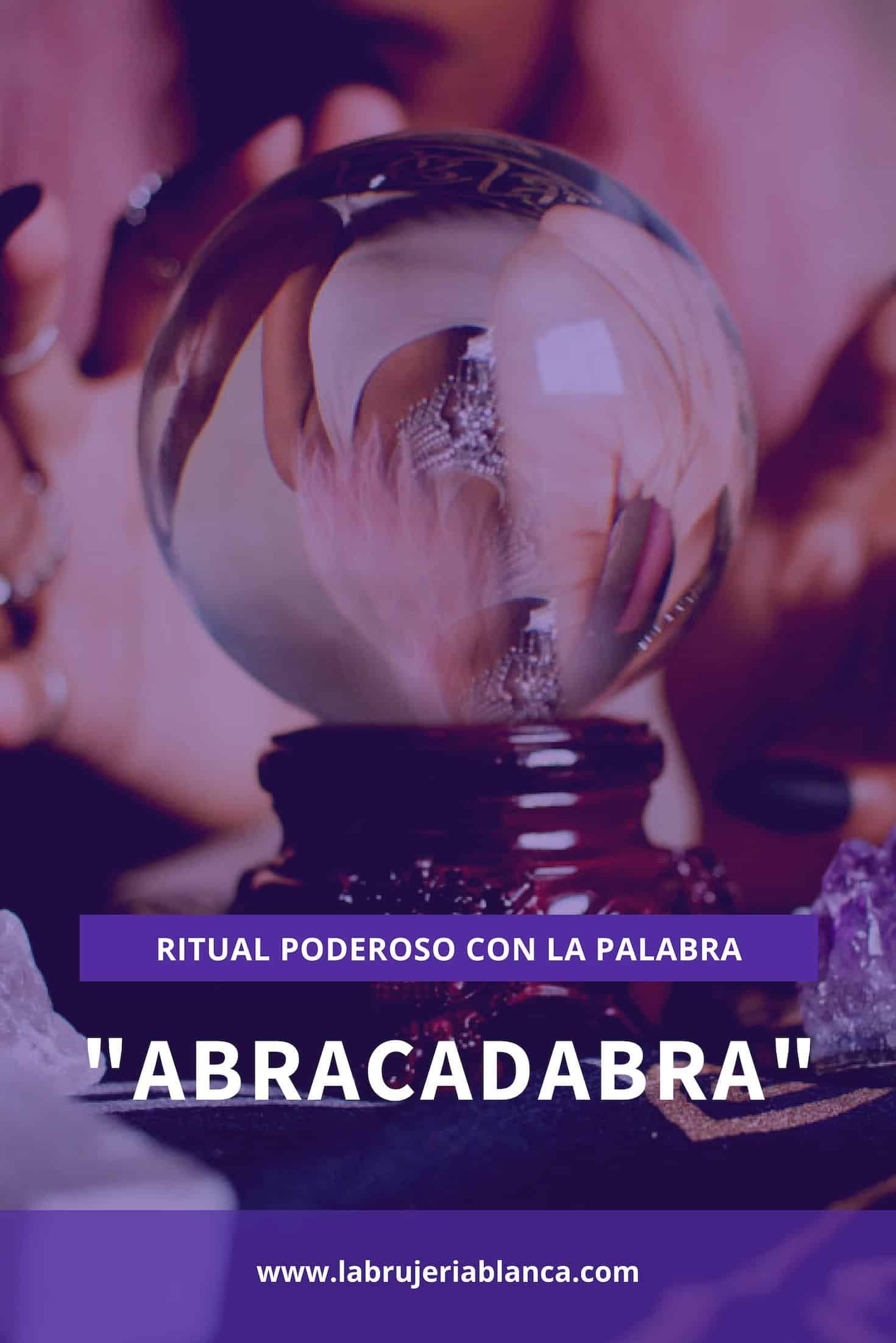 Abracadabra Palabra Mágica Palabras Mágicas Palabras
