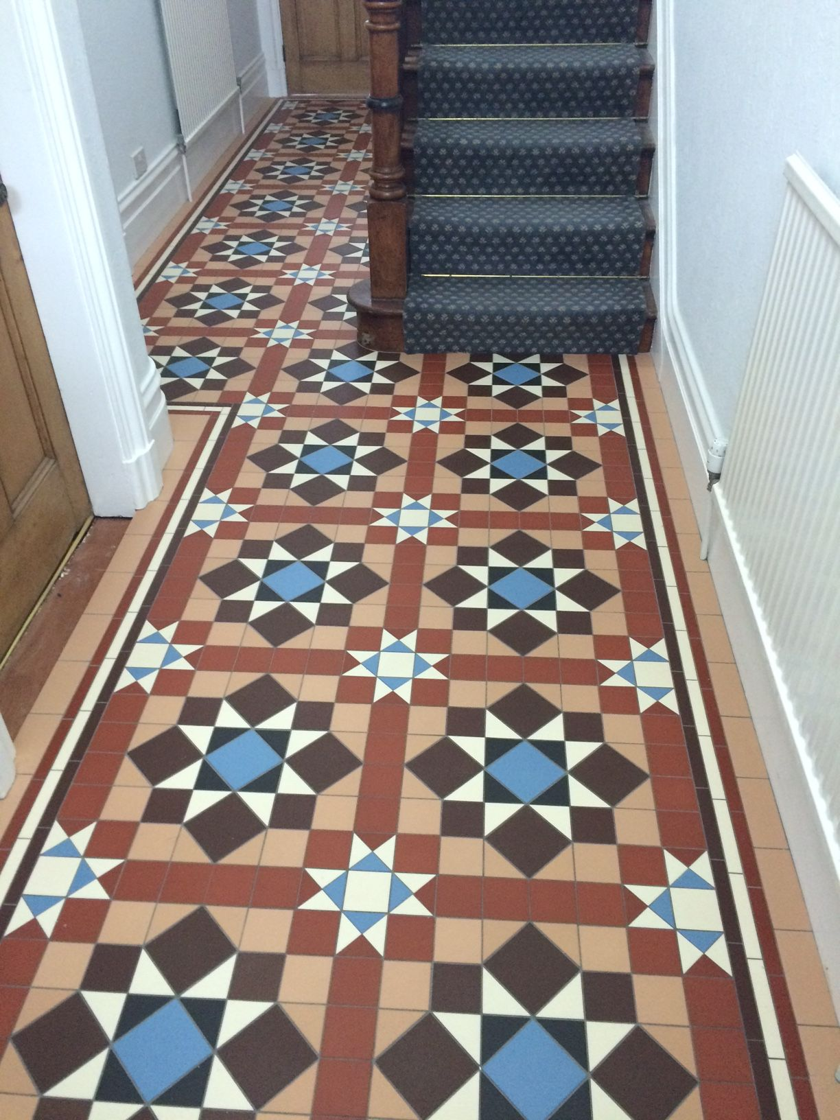 Period Floor We Recently Supplied Floor Tile Design Tile Design