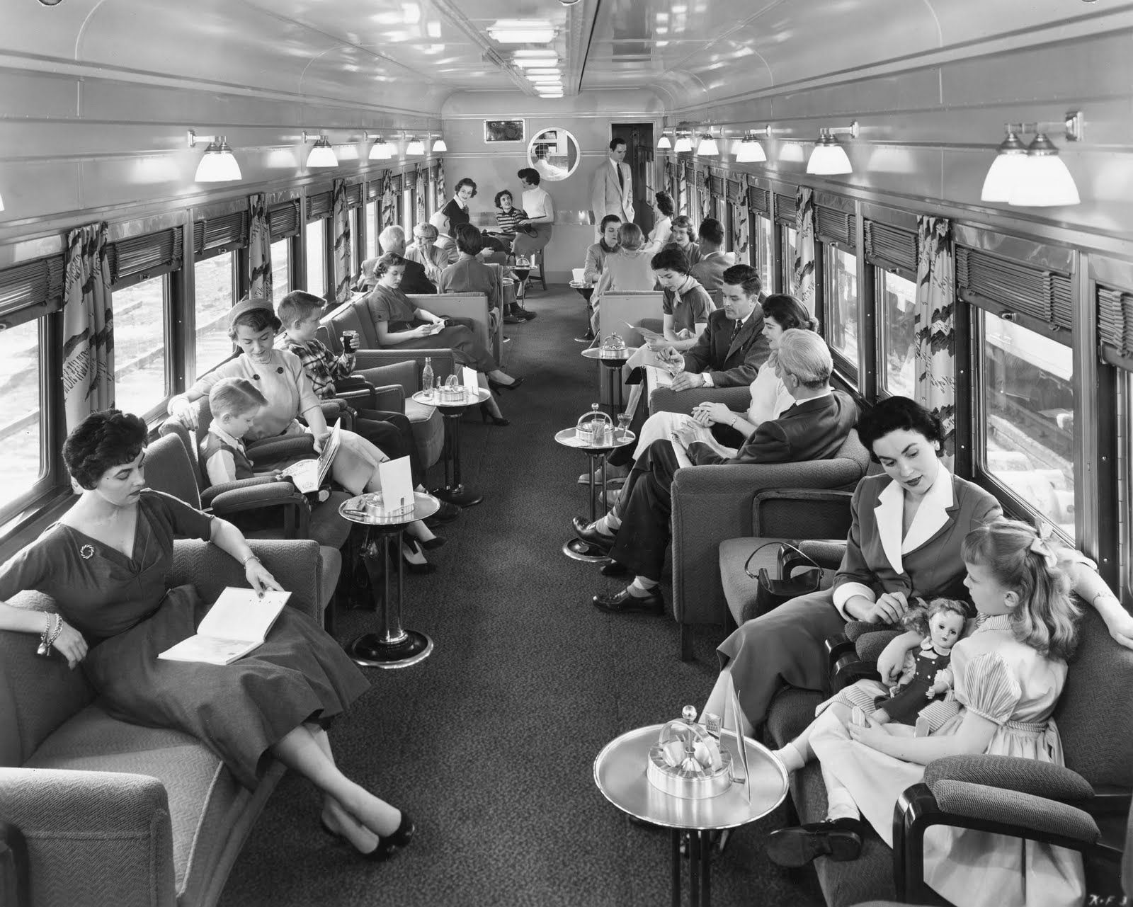 Old Fashion Train Rides With Sleeper Cars