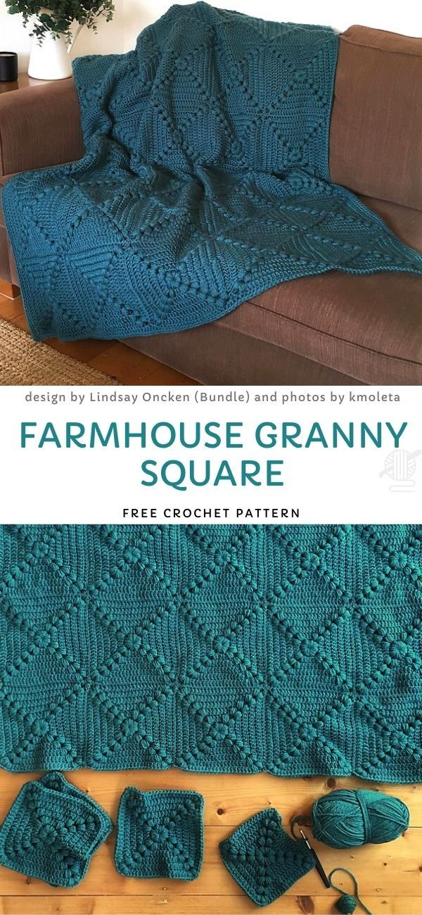 Sweet Granny Blankets Free Crochet Patterns. This lovely version looks a little like velvet, right? It reflects the light beautifully and it's gonna be a great addition to your home decor. Classic, soft and very warm, just perfect.  #freecrochetpattern #blanket
