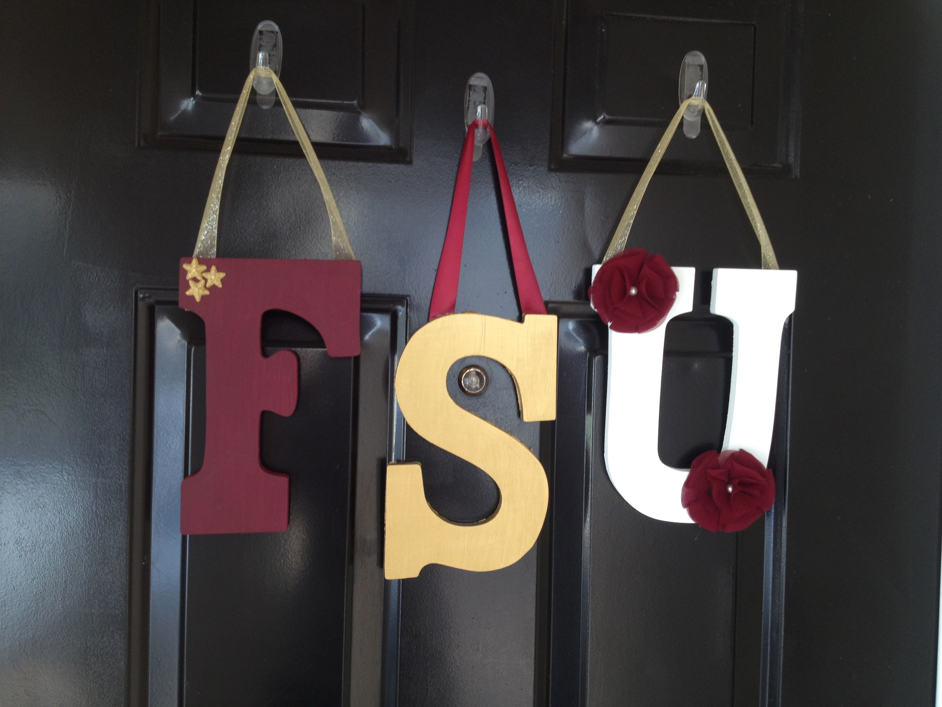 Fsu Decor For Fall Just A Few Supplies From Michaels Super Easy