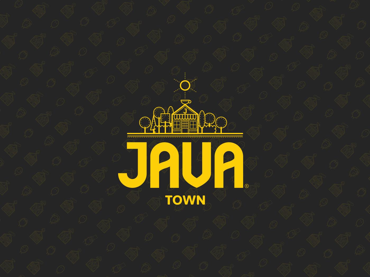 Logo And Branding Design For Java Town By Brutally Simple Bistro Branding Cafe Advertising Restaurant Bra Coffee Shop Branding Cafe Logo Design Cafe Logo