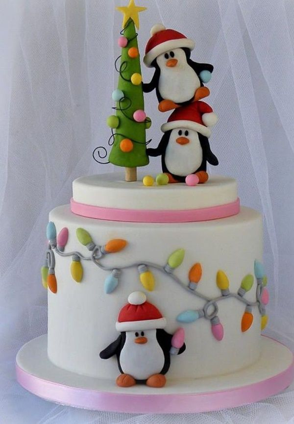 60 Easy Christmas Cake Decoration Ideas Fun Cakes Christmas Cake