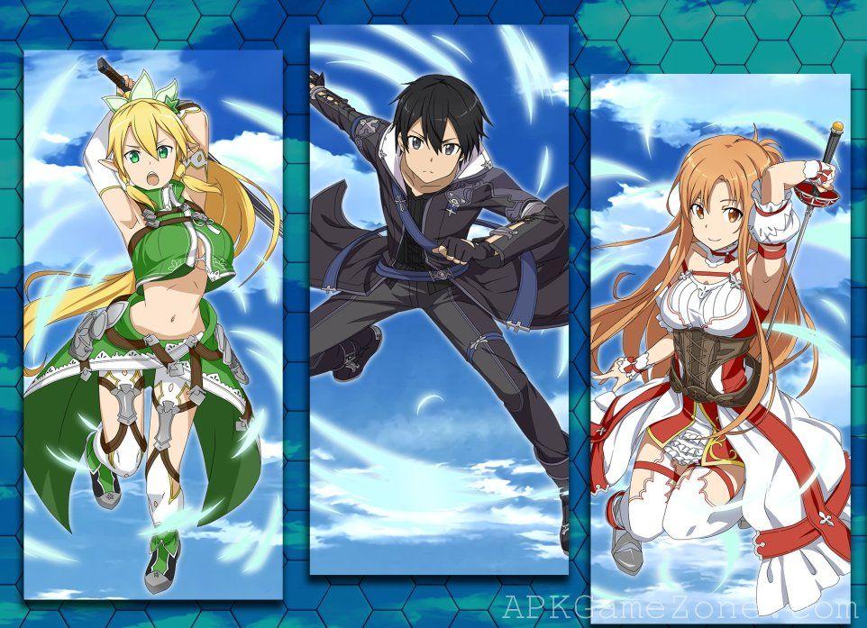 Sword Art Online Memory Defrag God Mod Download APK