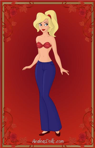 Ariel's Sister - Arista (Human) by ThomasAnime.deviantart.com on @DeviantArt