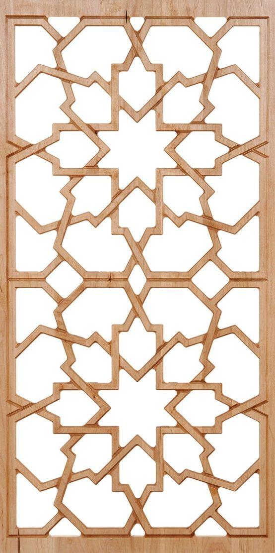 Moroccan Style Pattern Islamic Diseño Pared Celosías Diseño Madera Amazing Moroccan Design Pattern