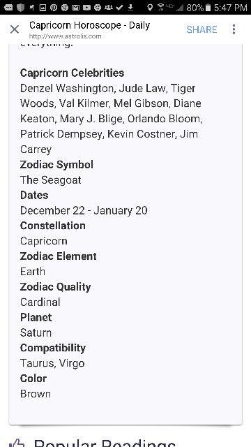 About Capricorn | <SRC> Capricorn: My Zodiac Sign | Zodiac