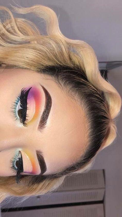 24 Schöne Augen Make-up Looks, die perfekt für den Sommer sind - inspirierte Schönheit