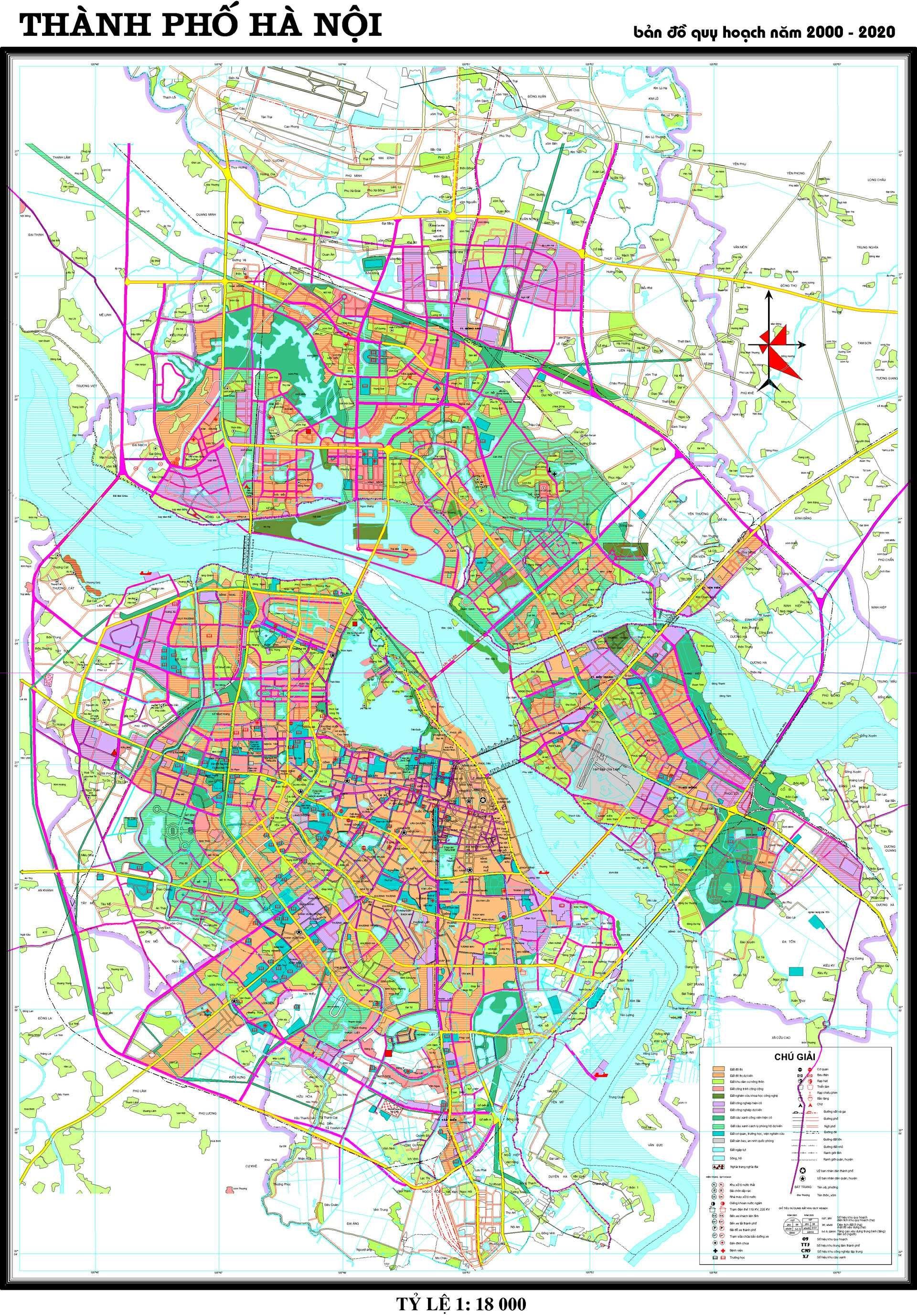 Hanoi Master Plan | Hanoi | Hanoi, Vietnam map, Vietnam