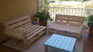 Mobiliario De Jardín O Terraza Con Palets Manualidades