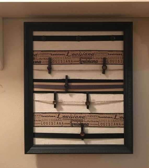 handmade / message board / wall organizer / louisiana / photo board