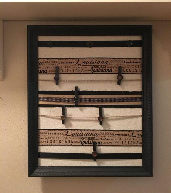 handmade / message board / wall organizer / Louisiana ...