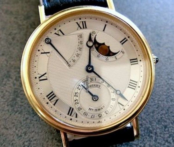 breguet classic moonphase mod le issu d 39 un fond de collectionneur avec papiers montres. Black Bedroom Furniture Sets. Home Design Ideas