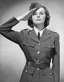 9c675d3fd7c World War 2  Underwear and uniform. Advice on suitable underwear for women  wearing uniform for the first time.
