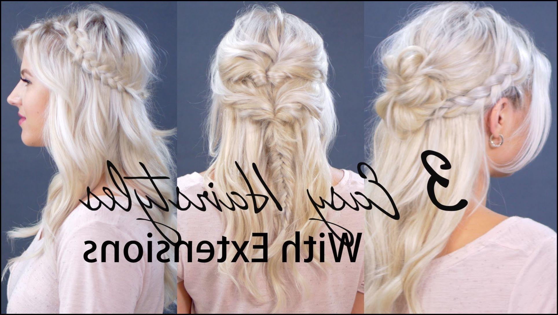 Hair Extension As One Of Popular Hairstyles Frisuren Mit Haarverlangerung Lange Haare Stylen Haarverlangerung