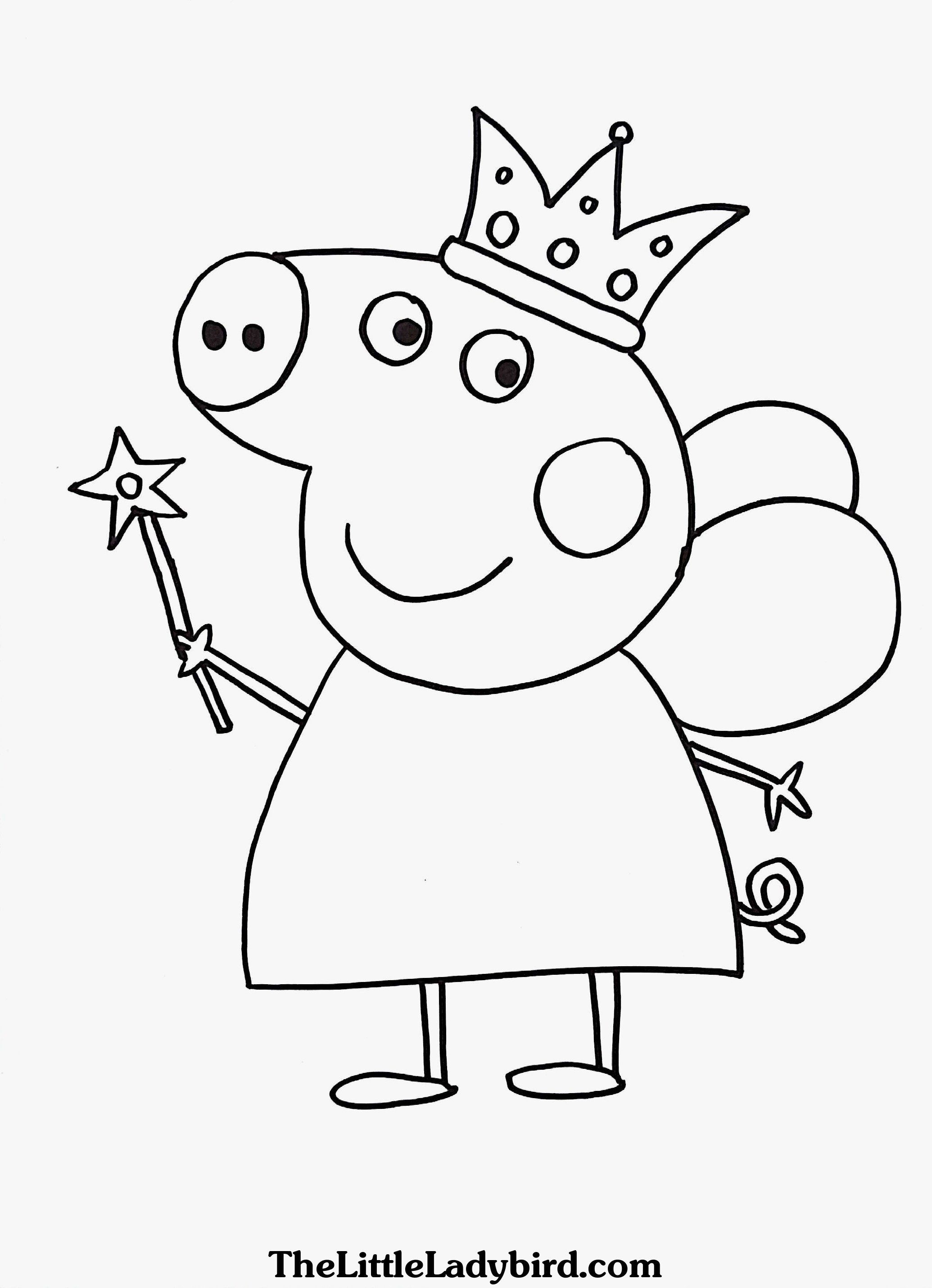 Peppa Pig Coloring Book Unique Coloring Peppa Pig Printables Image Inspirations Coloring Peppa Pig Coloring Pages Peppa Pig Colouring Birthday Coloring Pages