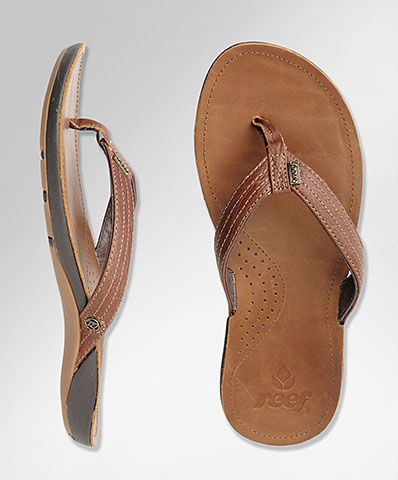 a9a7ec44b7b8 Reef Miss J Bay- Versatile durable flip flops with arch support.