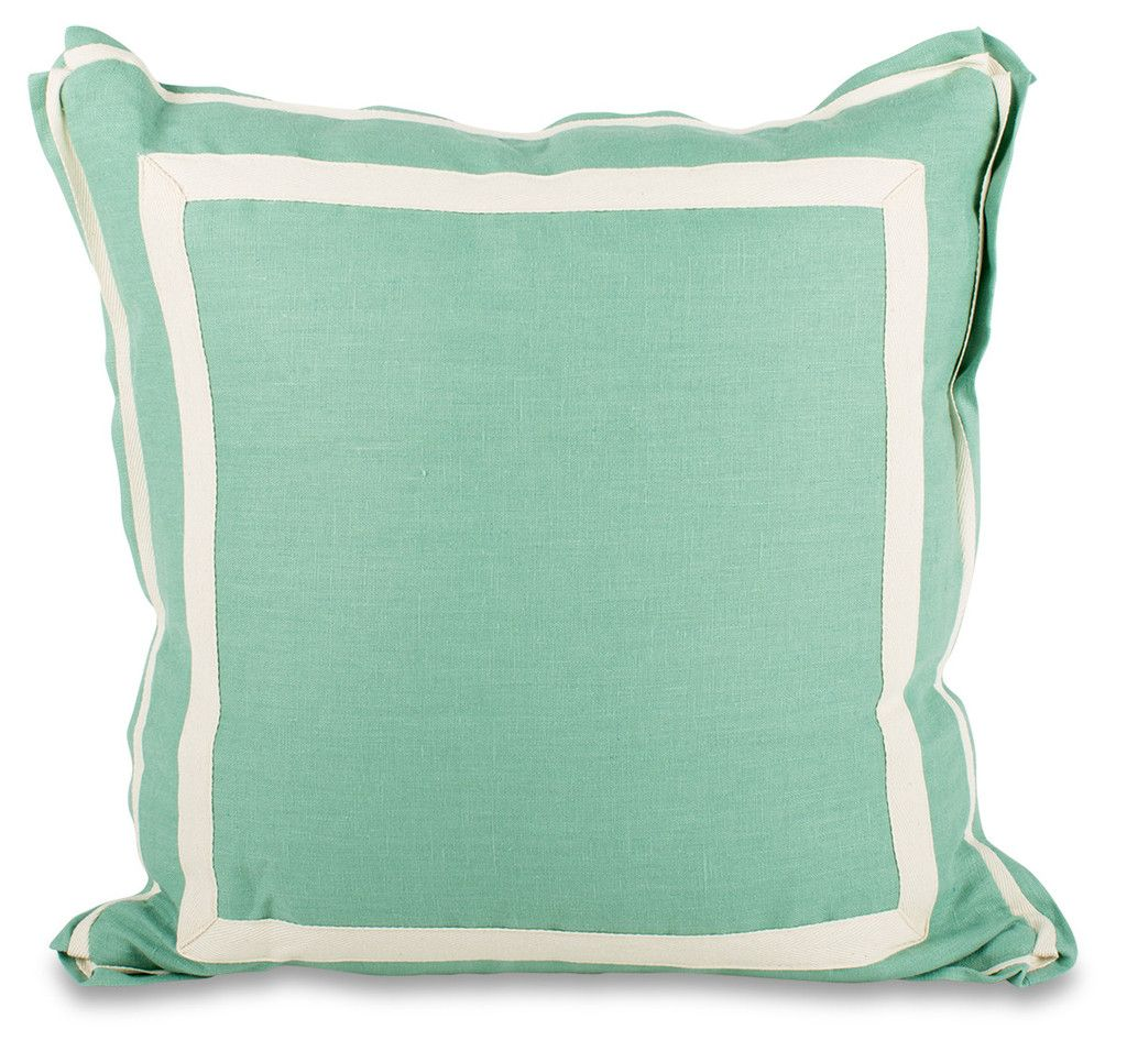 Savannah Pillow- Aqua