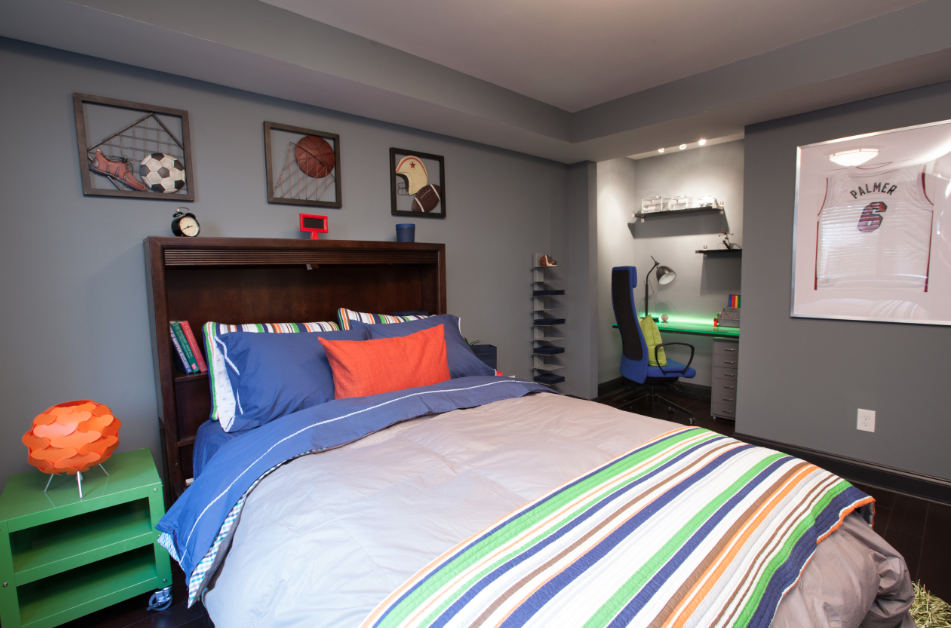 Dionna and natasha kivi 39 s bedroom featured on property for Brothers bedroom ideas
