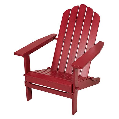 Ontario - Garten-Klappsessel Adirondack aus rotem Akazienholz