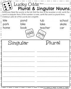 March First Grade Worksheets