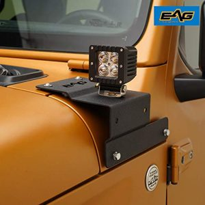 Eag Steel Cowl Body Armor With Light Mounts Jeep Parts Mods