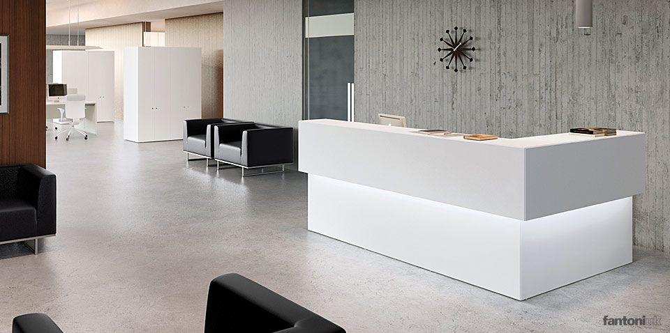 Pin By Roulama On Office Reception Desk Office Reception