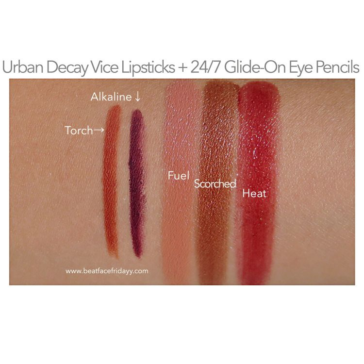 Urban Decay Naked Heat Eyeshadow Palette, Vice Lipstick ...