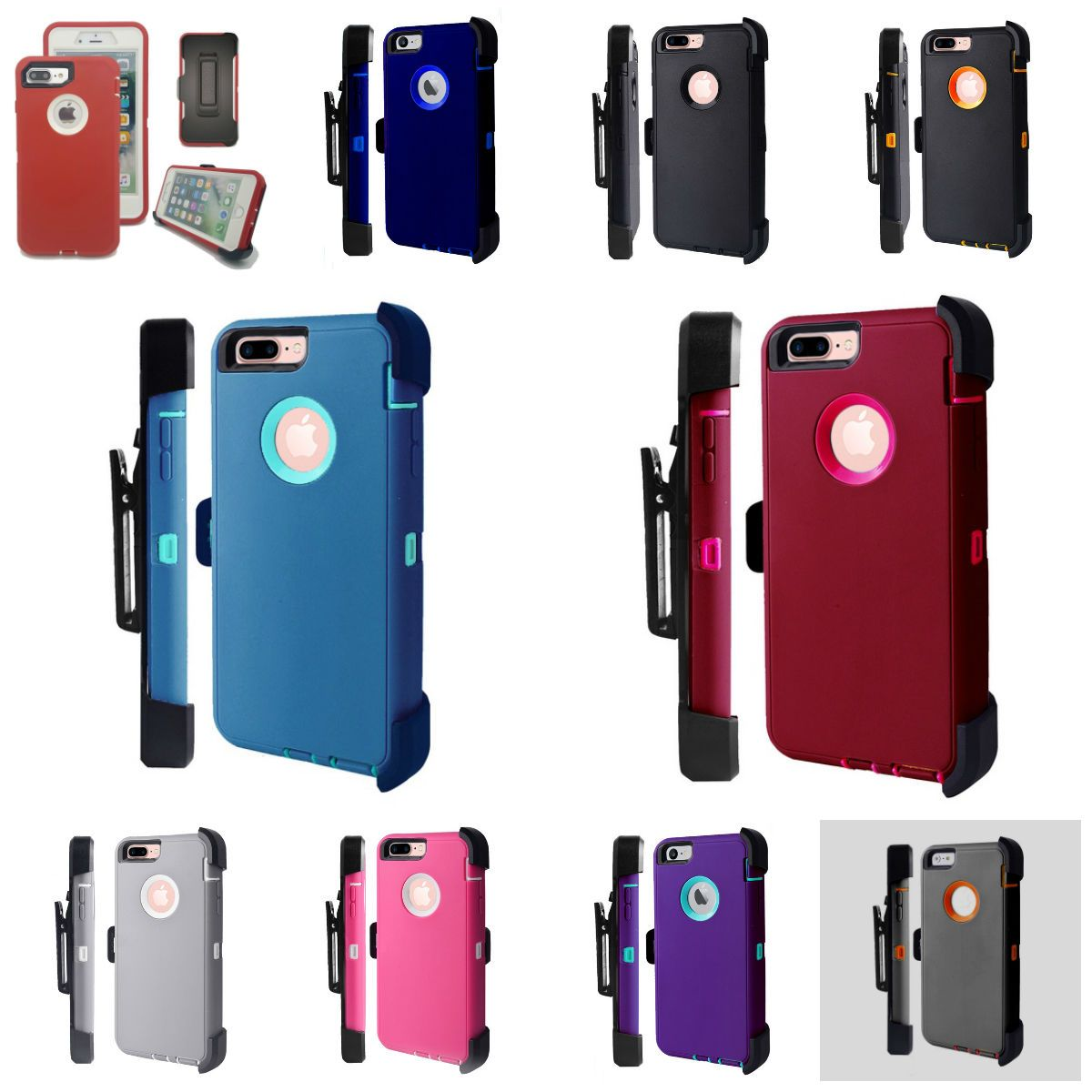 Defender rugged case screen protector holster fits for