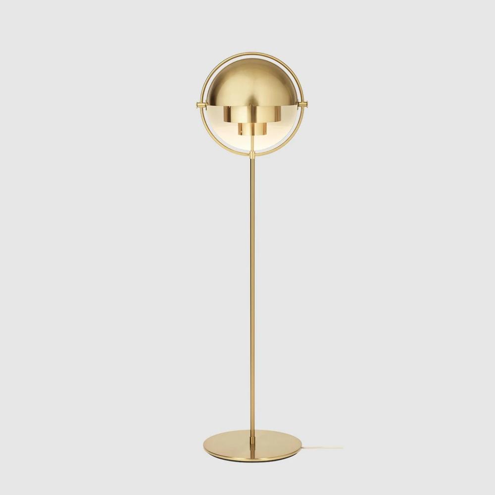 MultiLite Floor Lamp in 2020 Brass floor lamp, Floor