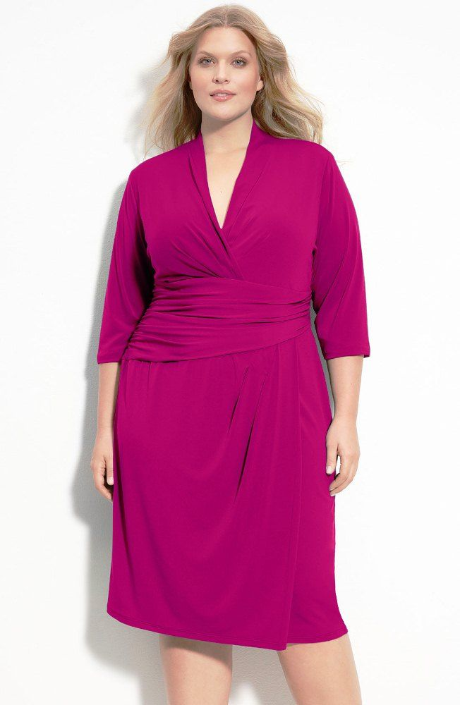 Suzi Chin for Maggy Boutique Faux Wrap Jersey Dress from Nordstrom ...
