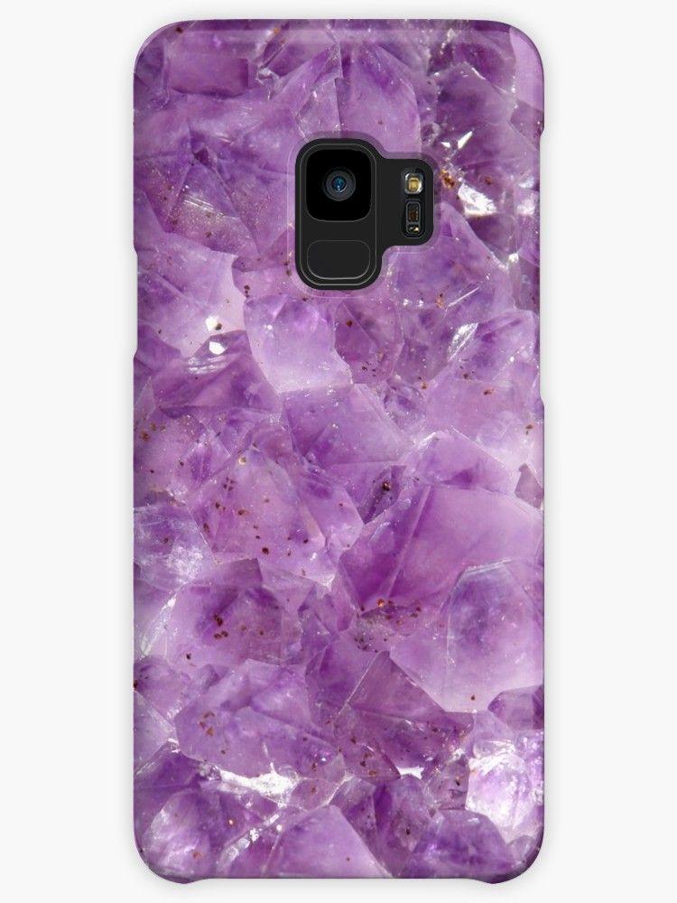 Purple Amethyst Crystal   Case Skin for Samsung Galaxy by ... 491b33cac3