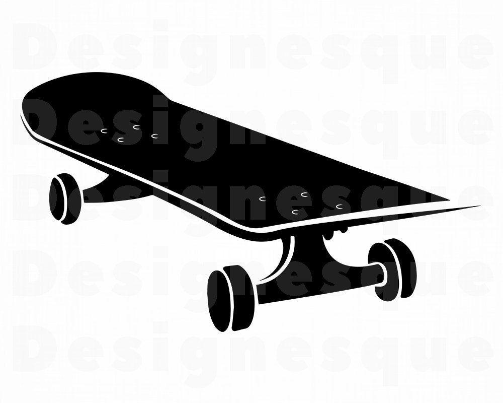 Skateboard Svg Skateboarding Svg Skateboard Clipart Etsy In 2021 Skateboard Svg Clip Art
