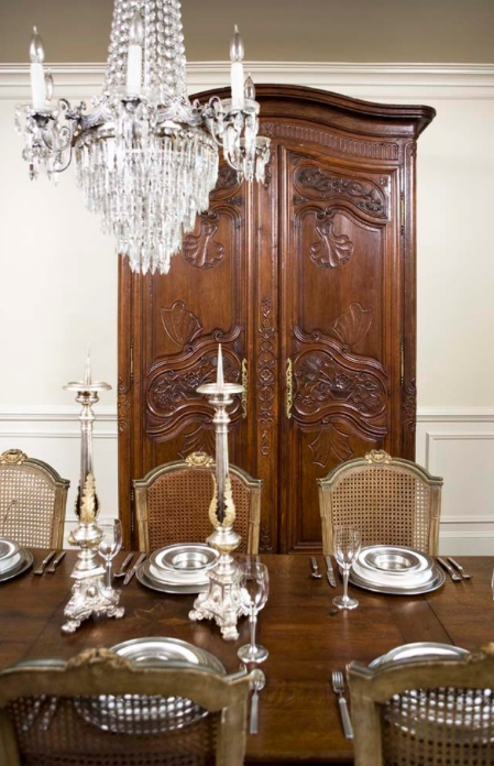 Armoire In The Dining Room
