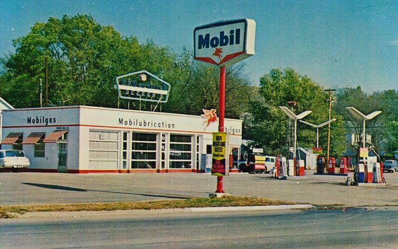 Mobil Gas Station Wathena,KS in 2020 Gas station