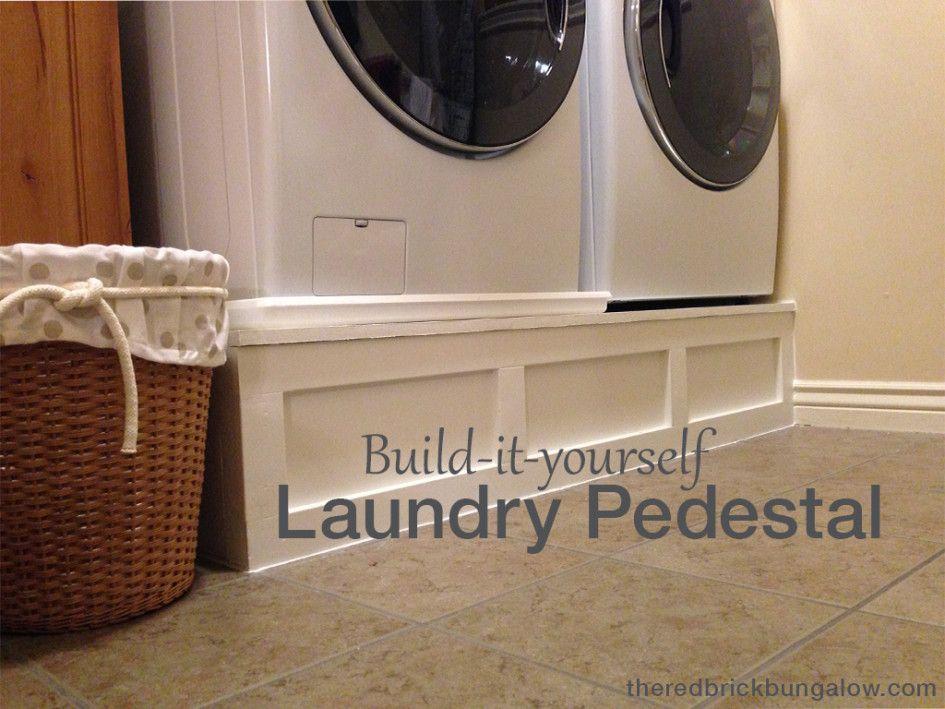 Custom laundry pedestal the red brick bungalow organization custom laundry pedestal the red brick bungalow solutioingenieria Choice Image