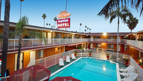 The Saharan Motor Hotel Is A Motel In West Hollywood Plan Your Road Trip To Ca With Roadtrippers