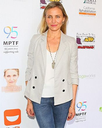 Cameron diaz wearing a house of harlow 1960 golden hour fringe cameron diaz wearing a house of harlow 1960 golden hour fringe pendant necklace mozeypictures Gallery