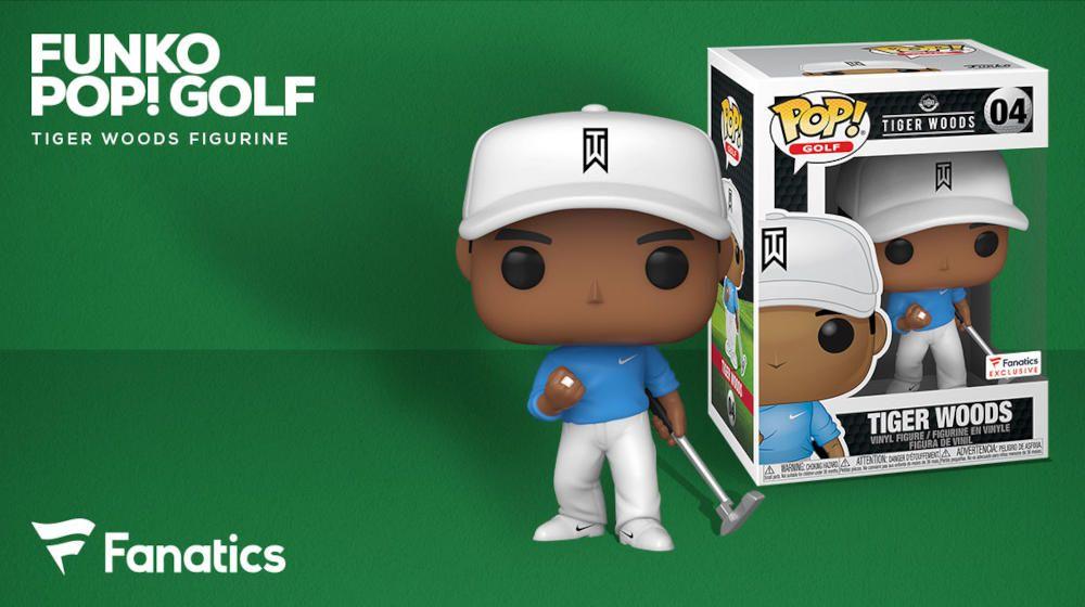 Tiger Woods Pop Exclusiva Fanatics Tiger Woods Figuras Funko Blog