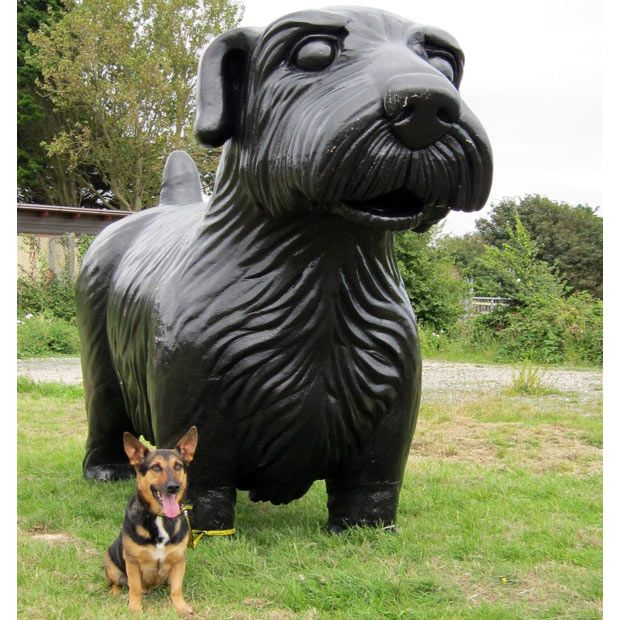 Puppy Love Dog Sculpture Bear Sculptures Giant Dogs